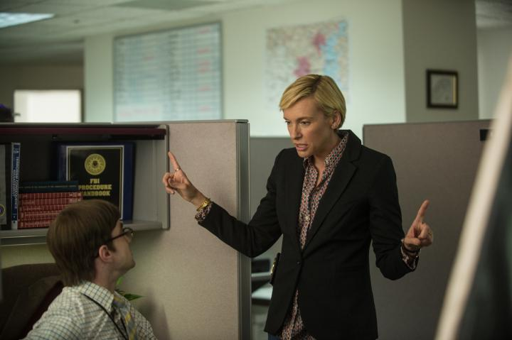 Toni Collette and Daniel Radcliffe in Imperium (2016)