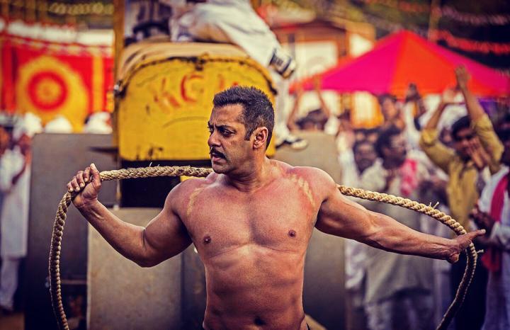 Salman Khan in Sultan (2016)
