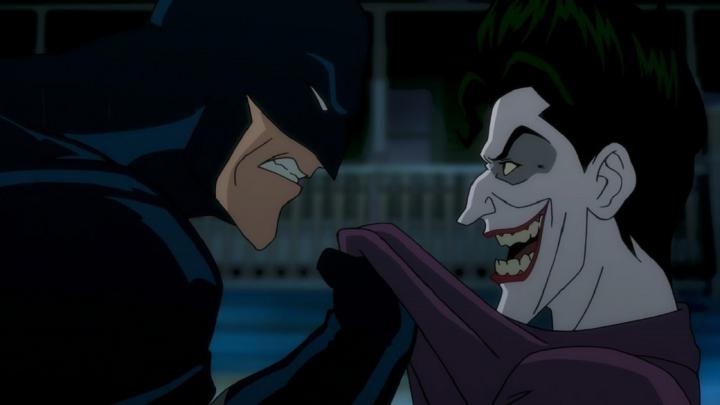 Mark Hamill and Kevin Conroy in Batman: The Killing Joke (2016)