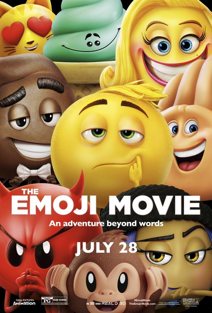 Patrick Stewart, Jennifer Coolidge, James Corden, Anna Faris, Maya Rudolph, Rob Riggle, and T.J. Miller in The Emoji Movie (2017)