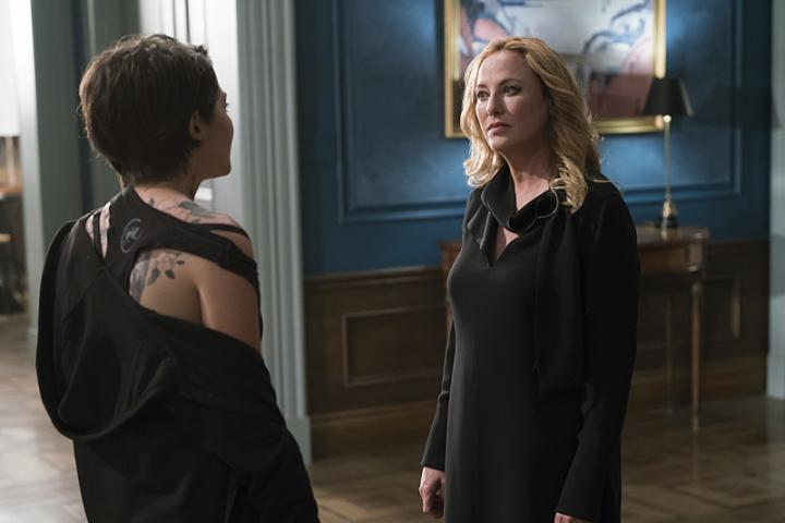 Virginia Madsen and Stephanie Leonidas in American Gothic (2016)