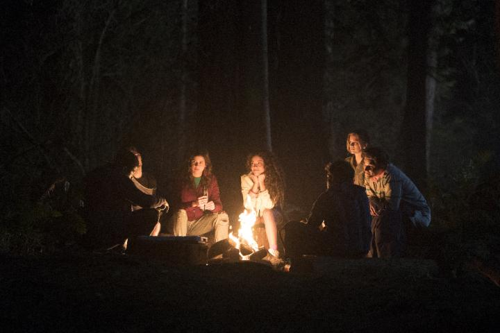 Ronen Rubinstein, Amber Coney, Paulina Singer, and Elizabeth Lail in Dead of Summer (2016)