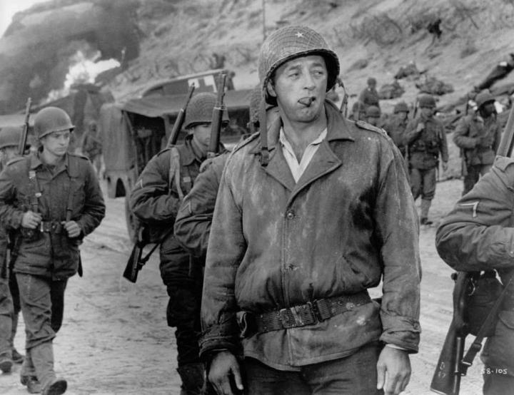 Robert Mitchum in The Longest Day (1962)