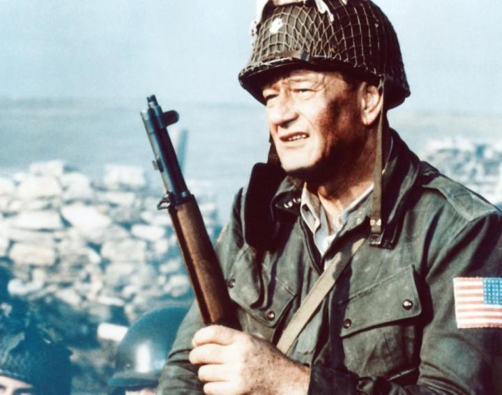 John Wayne in The Longest Day (1962)