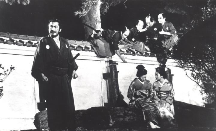 Toshirô Mifune in Sanjuro (1962)