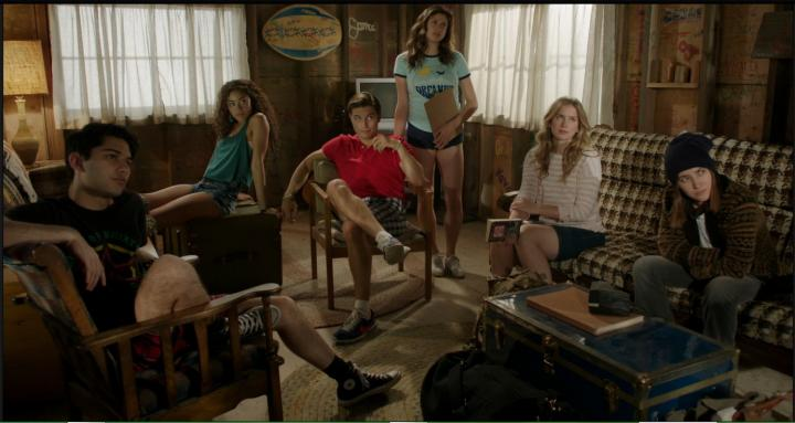Zelda Williams, Mark Indelicato, Ronen Rubinstein, Amber Coney, Paulina Singer, and Elizabeth Lail in Dead of Summer (2016)