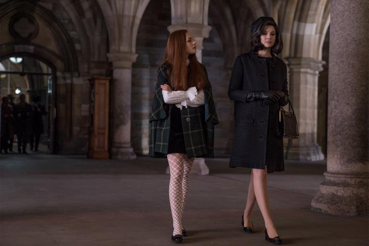 Caitriona Balfe and Sophie Skelton in Outlander (2014)