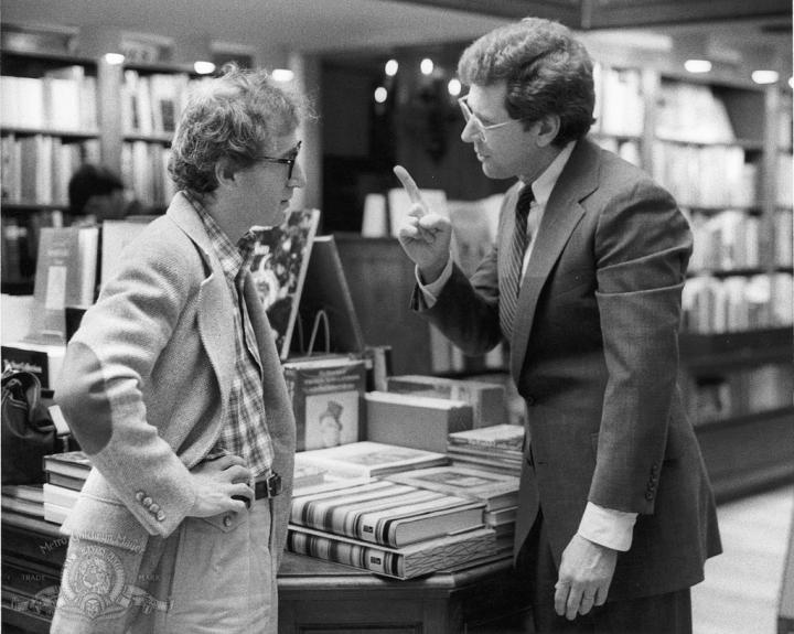 Woody Allen and Michael Murphy in Manhattan (1979)