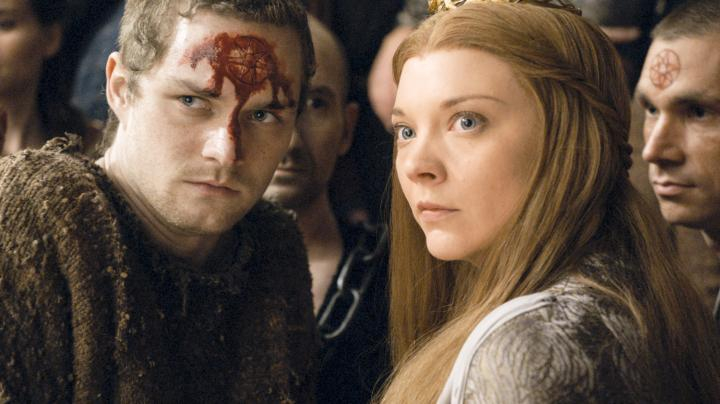 Natalie Dormer and Finn Jones in Game of Thrones (2011)