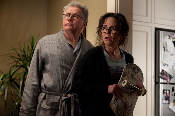 Sally Field and Martin Sheen in The Amazing Spider-Man (2012)