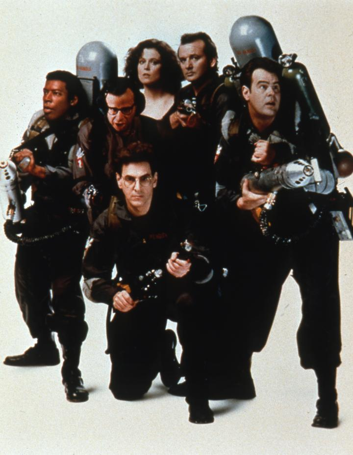 Dan Aykroyd, Bill Murray, Sigourney Weaver, Harold Ramis, Ernie Hudson, and Rick Moranis in Ghostbusters II (1989)