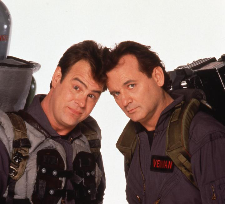 Dan Aykroyd and Bill Murray in Ghostbusters II (1989)