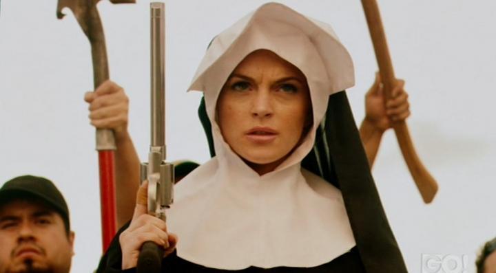 Lindsay Lohan in Machete (2010)